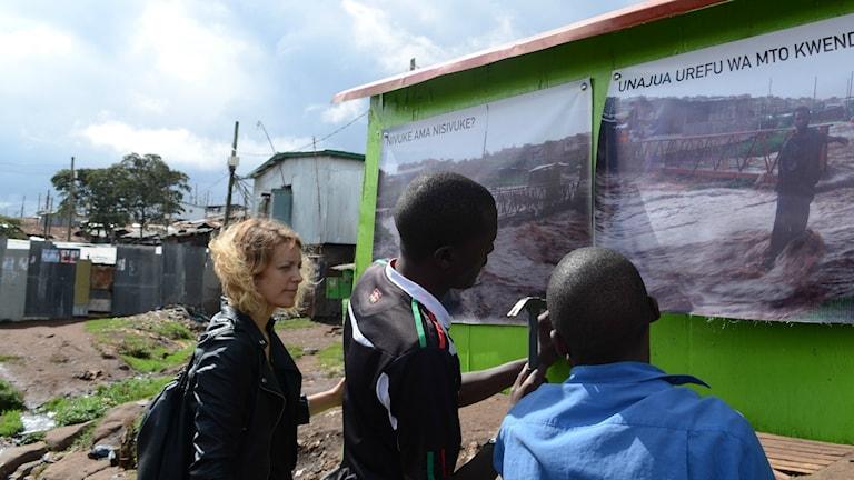 Emma Skottke i Kenya