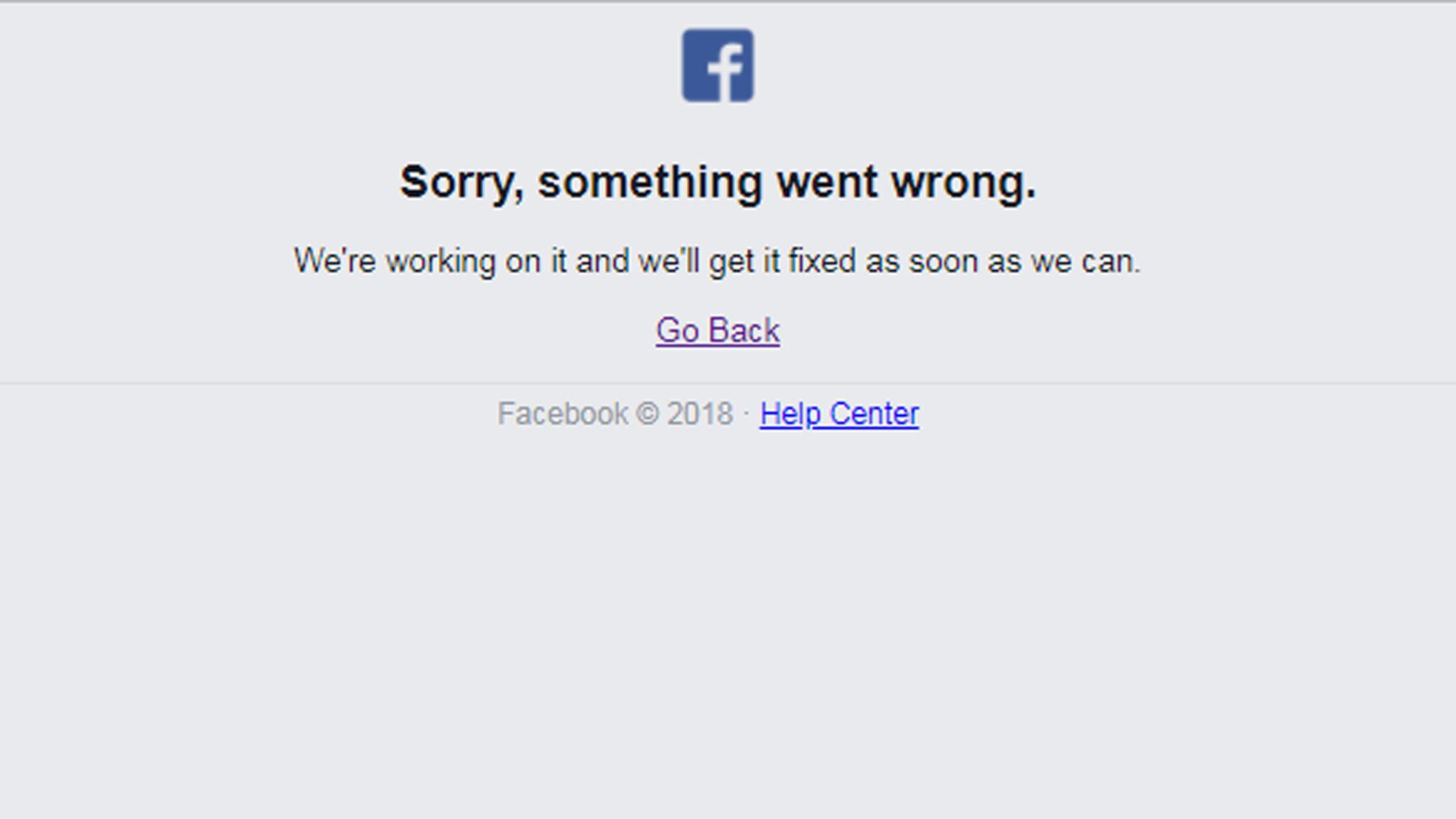 Dejtingsidor på facebook nere