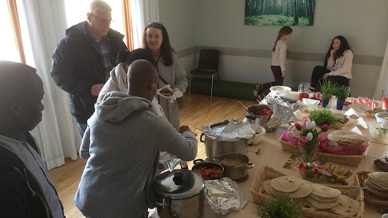 Matfest i Skällinge