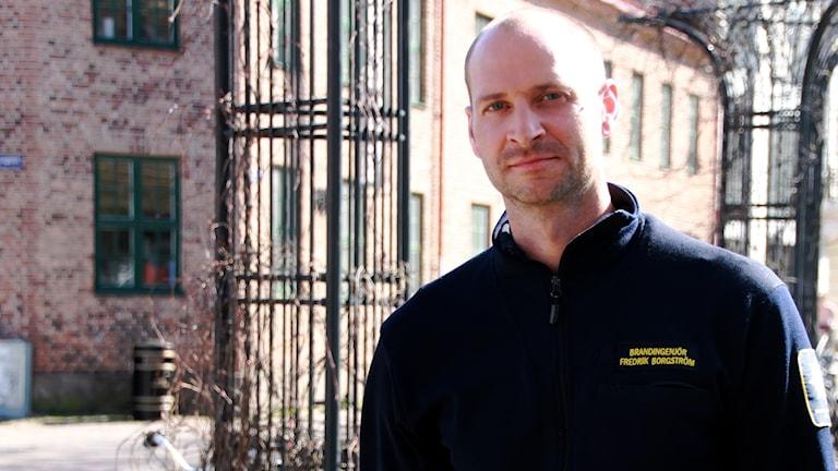 Porträttbild Fredrik Borgström