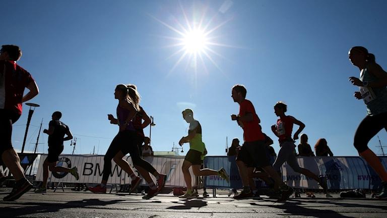 Löpare tror att de springer snabbare än de faktiskt gör, visar ny forskning.