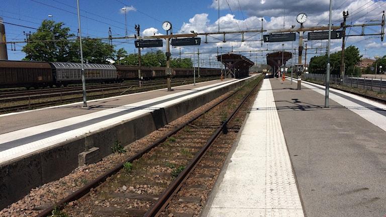 tågstation varberg halland godståg pendeltåg öresundståg