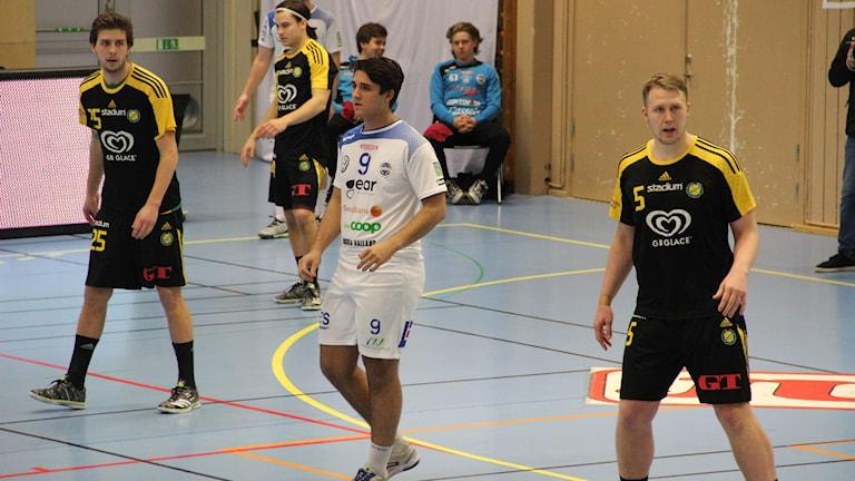 Matchbild HK Aranäs - Sävehof IK.