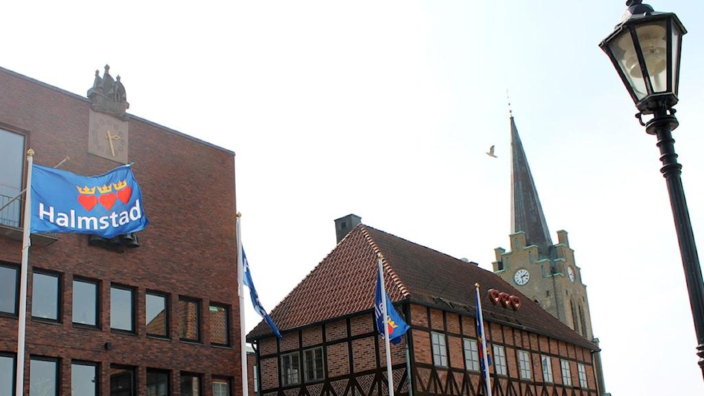 Rådhuset i Halmstad.