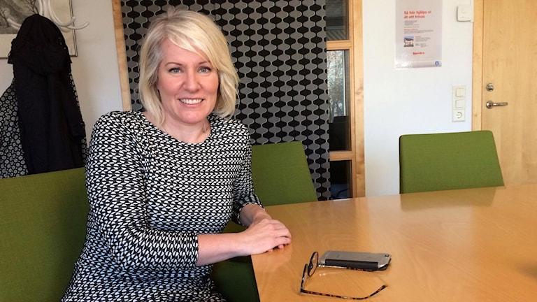 Elinor Filipsson, näringslivschef i Kungsbacka kommun.