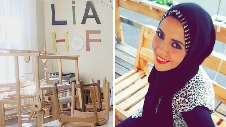 Fatima Hojeij är glad för att barnen kan gå kvar i skolan terminen ut.