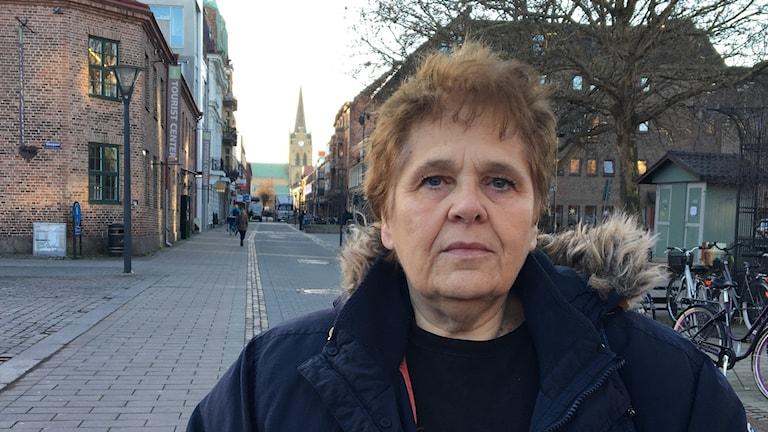Lis Bergman är en av personerna bakom Julängeln i Rydöbruk. Hon säger att behovet av stöd i jul är stort. Men engagemanget är också stort.