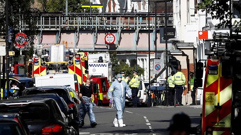 misstänkt terror i London