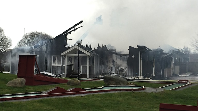 Branden gottskär hotell