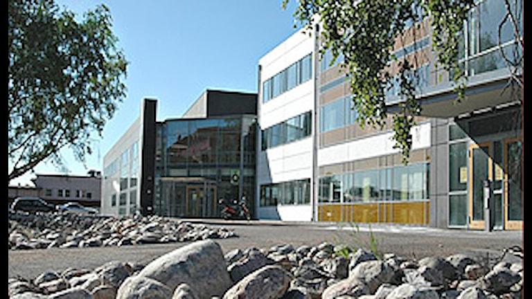 Högskolan i Halmstad. Foto: Ida Lövstål.