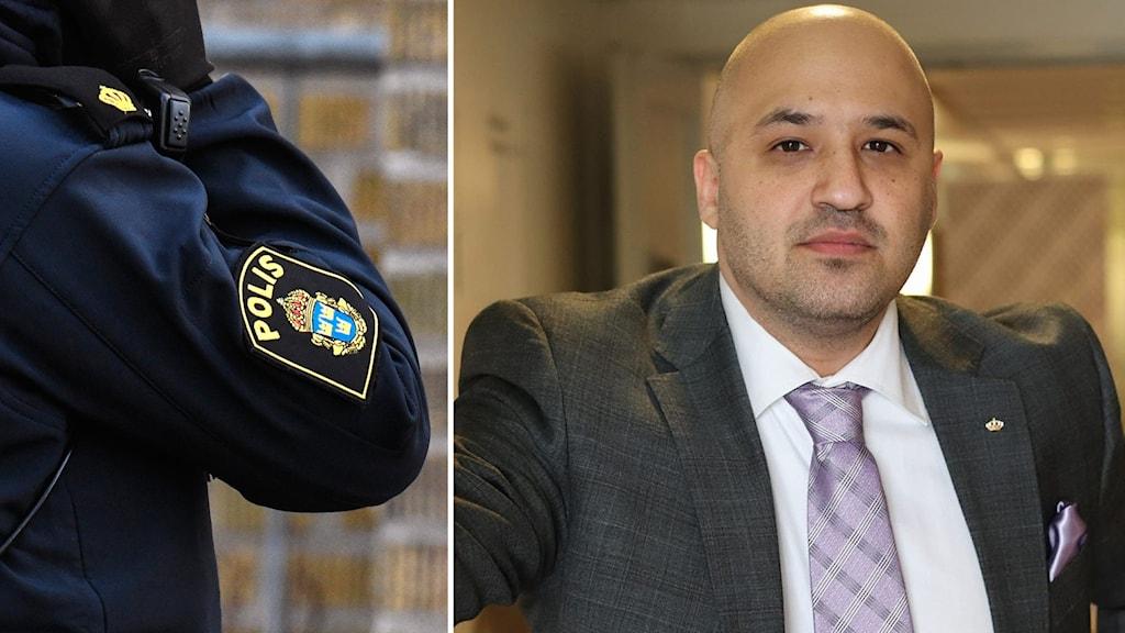 Ardavan Khoshnood, kriminolog vid Högskolan i Malmö.