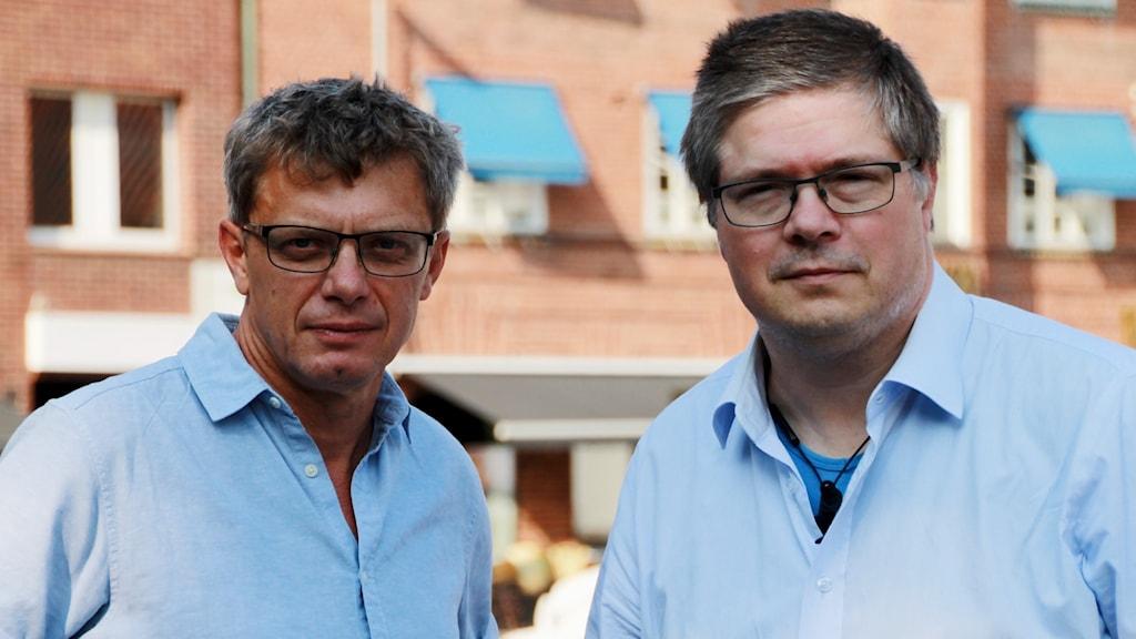 Ola Johansson (C) och Larry Söder (KD)