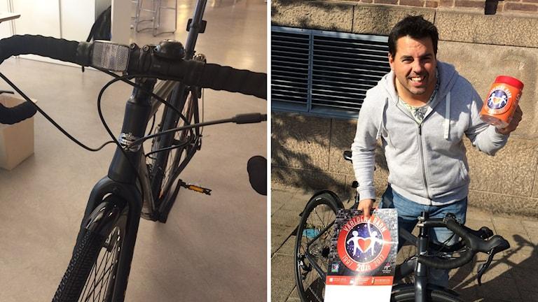 Cyklarna kommer auktioneras ut - och pengarna går till Världens barn.