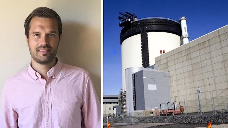 Christian Sjölander, VD för Kärnfull Energi och Ringhals kärnkraftverk i Varberg.