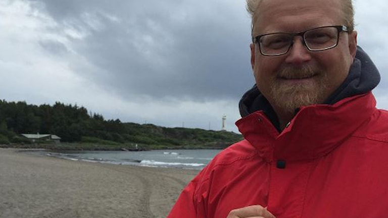 Per Tjernström är ordförande för Varbergs Livräddningssällskap.