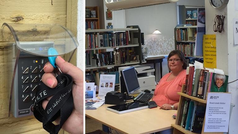 Virpi Ingvarsson är bibliotekarie på Unnaryds och Hyltebruks bibliotek.