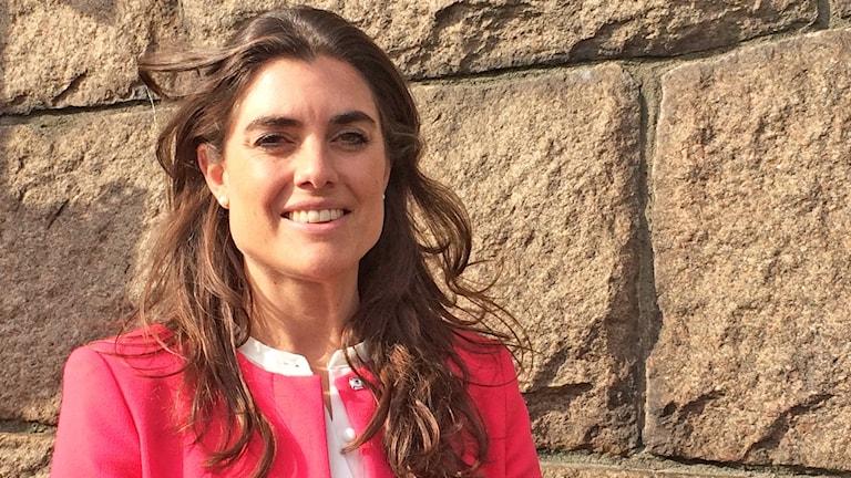 Linda Törner i Halmstad är grundare av det kvinnliga nätverket WOW, som står för Women on Wednesday.