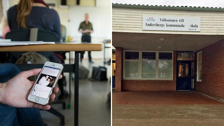 Andersbergsskolan har infört mobilförbud.