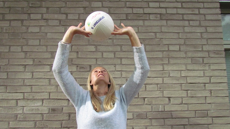Andréa Jacobsson, P4 Hallands volleybollexpert.