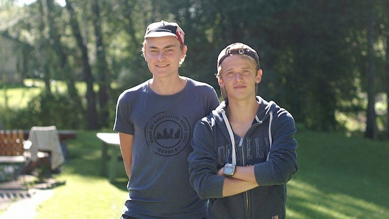 Philip Persson och Oskar Jensen runt och testade motionsspår i Sveriges. Halland är med i toppen.