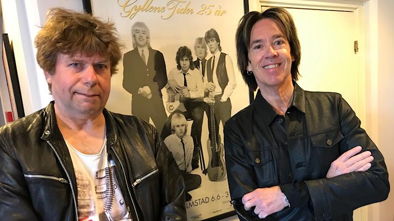 Mats MP Persson och Per Gessle i Gyllene Tider 20