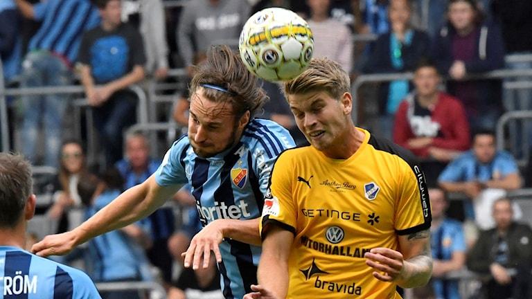 Arkivbild från matchen mellan Djurgården och HBK.
