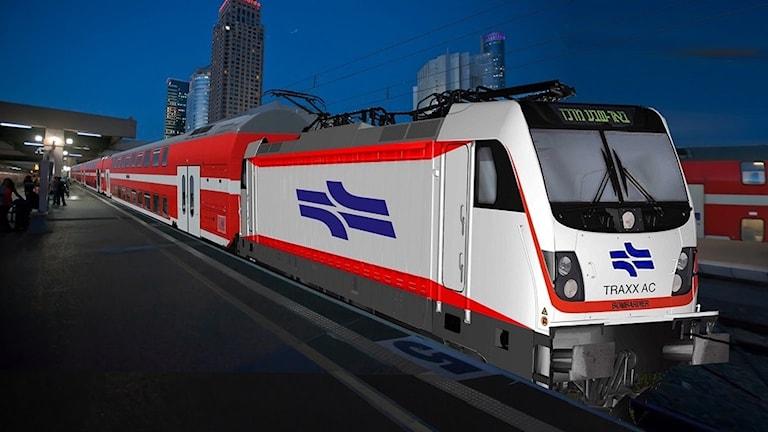 Bombardier, dubbeldäckartåg