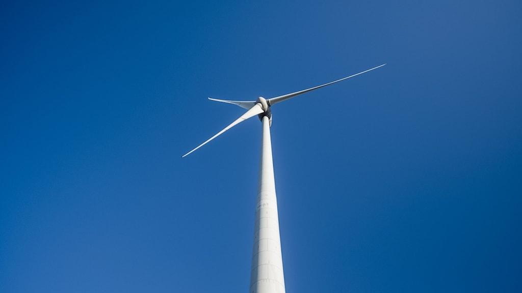 Vindkraftverk.