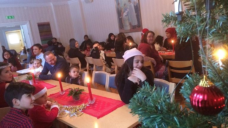 Julfest i Morup.