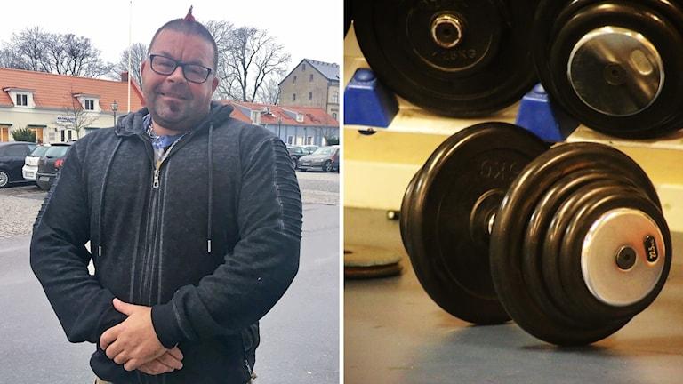 """Jim Glimvik är administratör för gruppen """"Träningsglädje och inspiration."""""""