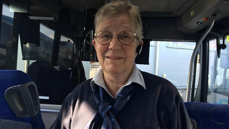 Kerstin Sörensen, busschaufför