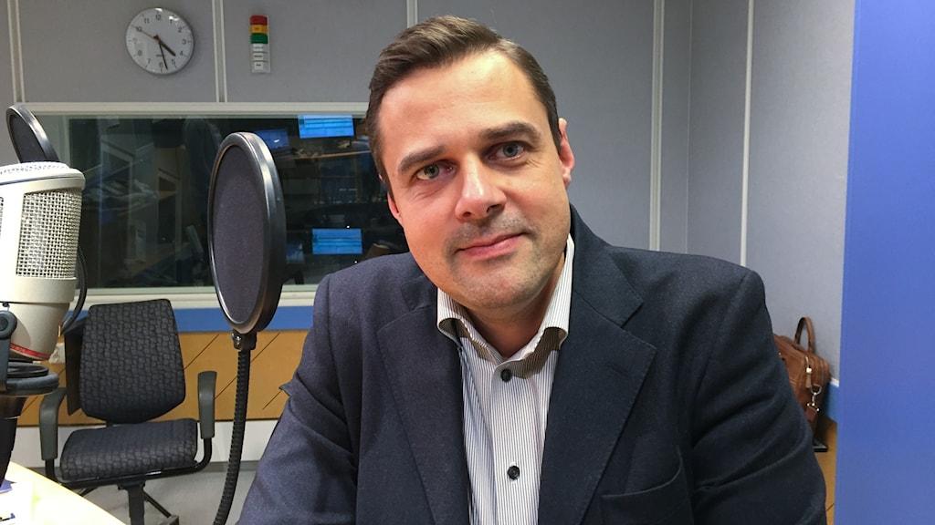 Lars Sjögren, vd och chefredaktör för Laholms Tidning.