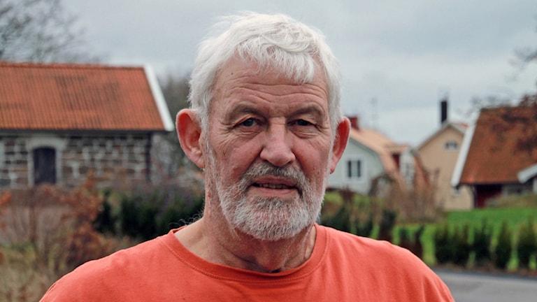 Roland Lydén, före detta polis i Oskarström.