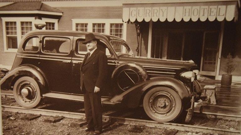 Överste Otto Ohlson, chef för Alaska Railroad 1928-45 och född i Sperlingsholm, Halmstad 1870.