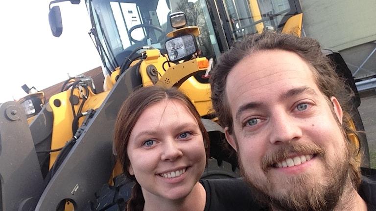 """Lantbrukaren Emma Svensson """"tog hjälp"""" av Per Qvarnström och skänkte pengar till Världens barn."""