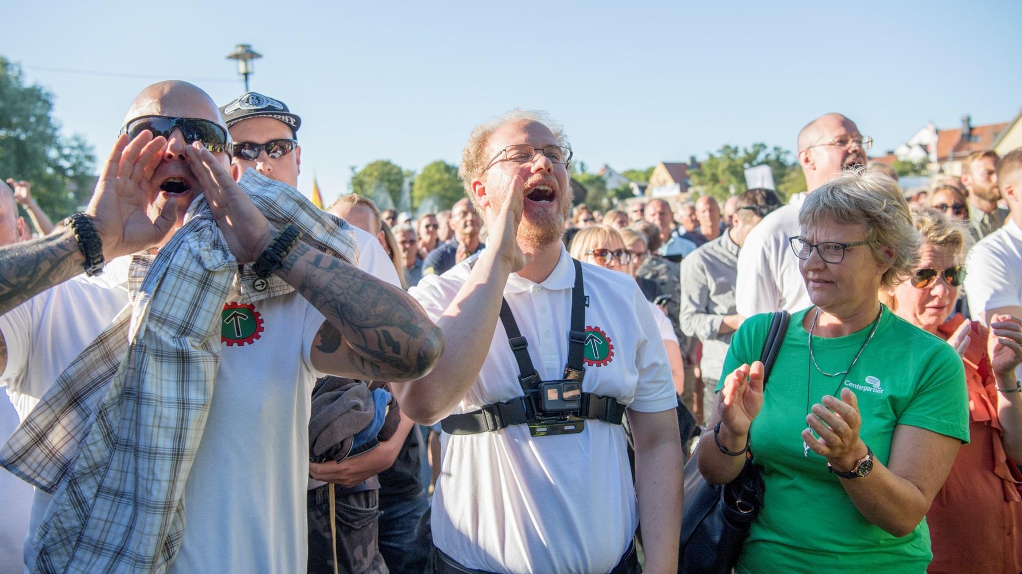Kris omringade nazister under Almedalsveckan - P4 Halland