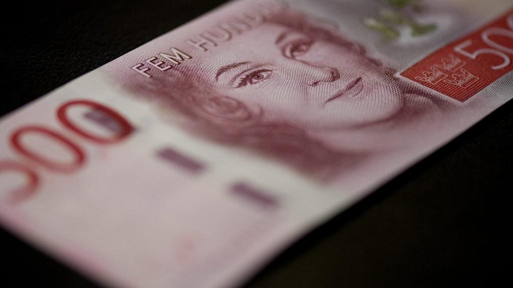 500-kronors sedel. Foto: JESSICA GOW / TT