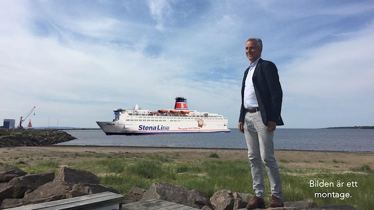 Tony Michaelsen, Stena Line