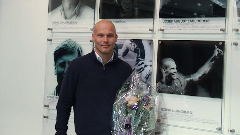 Fredrik Ljungberg hamnade idag på Halmstads Wall of fame.