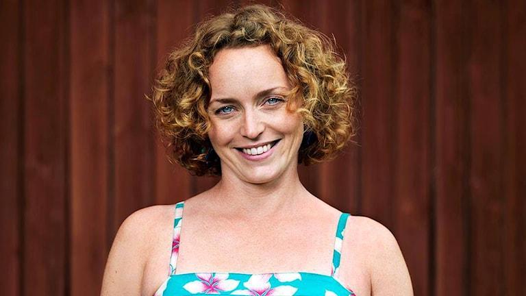 Jennifer Erlandsson, en av bönderna som deltar i Bonde söker fru.