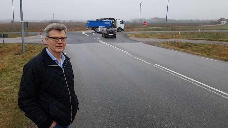 Göran Nilsson, ordförande i Trönninge samhällsförening.