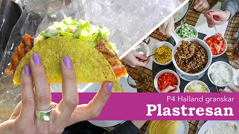 Taco och plast