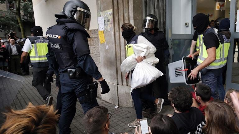 Folkomröstning i Katalonien.