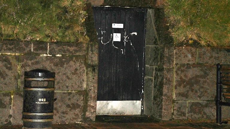 Offentlig toalett vid Norre Port.