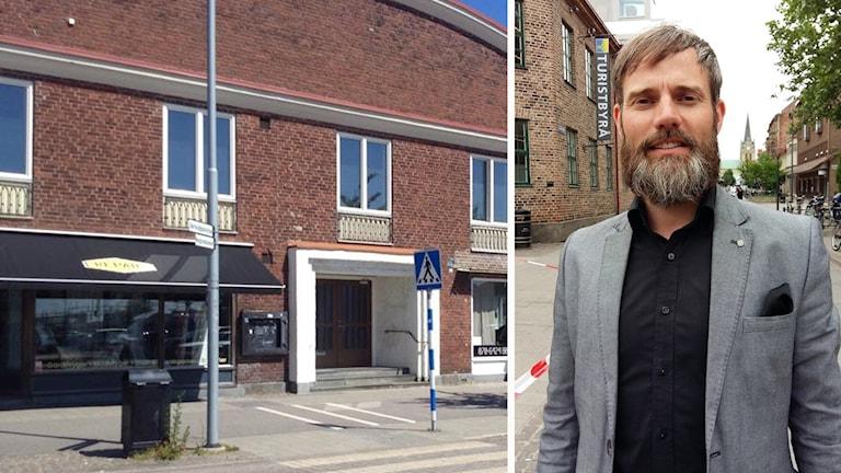 Henrik Oretorp (C) berättar att Halmstads kommun har tecknat ett avtal med Islamiska barn- och kulturföreningen.
