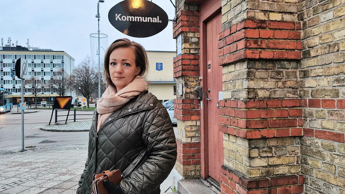 Therese Åberg, regionalt skyddsombud på Kommunal.