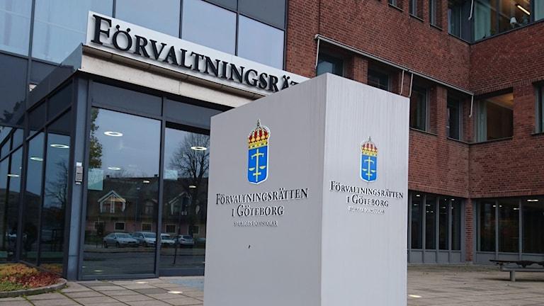 Förvaltningsrätten i Göteborg.