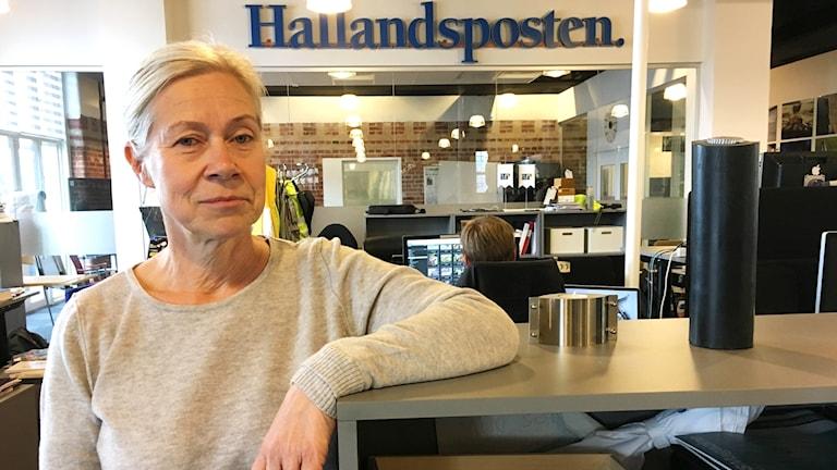 Viveka Hedbjörk, chefredaktör på Hallandsposten och Hallands Nyheter.