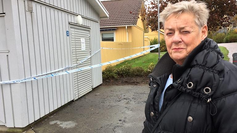 Monica Holm, boende i Håsten.