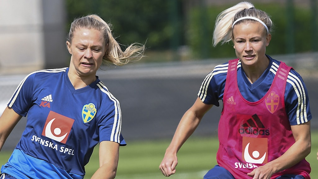 Fridolina Rolfö och Hanna Glas